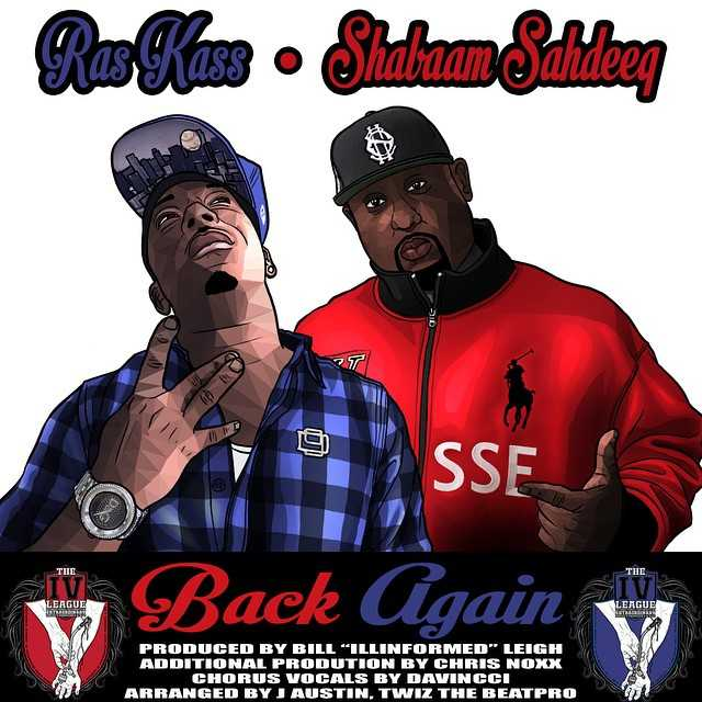 Ras Kass & Shabaam Sahdeeq - Back Again Cover